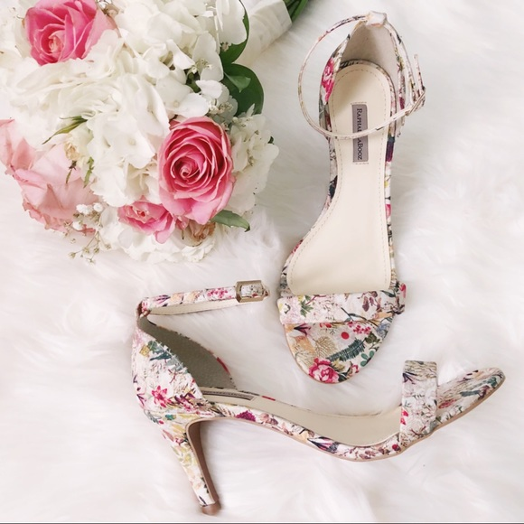 4016ee34699 Anthropologie Shoes -  raphaella booz  floral lace sandal heels